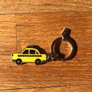 Coach NYC Taxi Cab Keychain